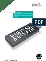 Digital Britain - Building Britain's Future