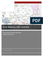 First Nations LNG Facilitators Report