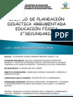 Planeación Didáctica Argumentada. Educación Física