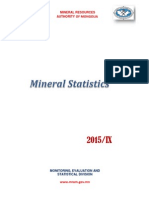 MRAM Statistical Report Q3, 2015