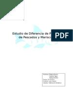 Informe de Diferencia de Precios Pescado y Mariscos 2