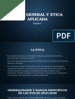 Etica General y Etica Aplicada