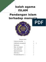 Manusia Menurut Tinjauan Islam Makalah