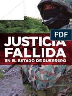 Justicia Fallida Estado Guerrero Esp 20150826