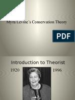 Myra Levine's Conservation Theory