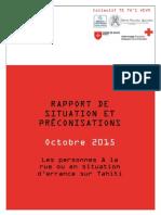 Rapport Personnes à La Rue V30102015