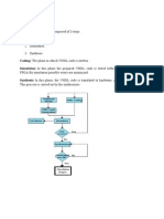Design Flow in VHDL
