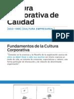 Modulo 2. Cultura Corporativa de Calidad