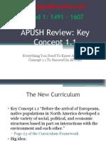 APUSH Review Key Concept 1.1