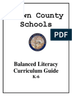 Balanced Literacy Guide Book-Draft 2010-11