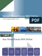 Sistem Pendaftaran KKN Online{New}