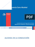 Reporte Tolerancia Cero Alcohol Primer Semestre-2013