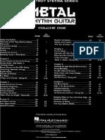 Heavy Metal Rhythm Guitar Vol 1 Español