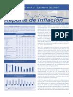 Reporte de Inflacion Setiembre 2015 Sintesis