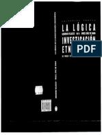 Velasco Diaz de Rada La Logica de La Investigacion Etnografica Pp 17 134 Conflicto Con La Codificacion Unicode