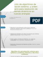 Expo Aproximacion externa y Optmizacion de orden fraccional