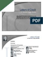 Letters of Credit Webinar