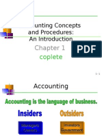 Accounting Information & Concepts
