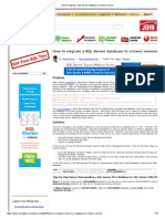 How to migrate a SQL Server database to a lower version.pdf