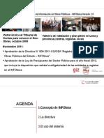 Presentacion de Capacitacion Del INFObras