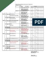 Kujadwal Kuliah Transfer Gasal 2015 2016