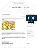 Paavo Airola - Book Summary - How to Keep Slim, Healthy and Young With Juice Fasting