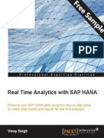 Real Time Analytics with SAP Hana - Sample Chapter