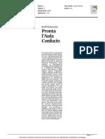 Università, pronta l'Aula Confucio - Il Corriere Adriatico del 3 novembre 2015
