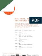 RITE Publication launch programme