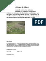 Sitio Arqueológico de Moray