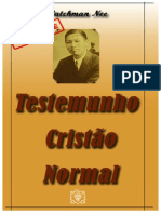 Testemunho CristÆo Normal - Watchman Nee