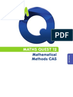 Maths Quest 12  Mathematics Methods CAS