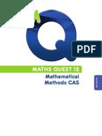 Maths Quest 12  Mathematics Methods CAS