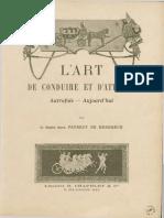 Faverot Art de Conduire Et d Atteler 1903