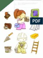 dibujos profesiones