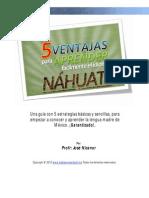 Las 5 Ventajas Nahuatl