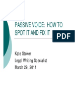 Passive Voice Workshop