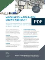 Teesing OEM Machine en Apparaten Bouw Fabrikant Nl