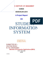 Student info sys.doc