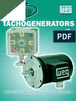 WEG Tachogenerator Manual English