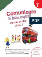 Comunicare in Limba Engleză Manual Pentru Clasa I