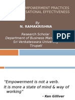 Employee Empowerment Practices for Organisational effectiveness.ppt