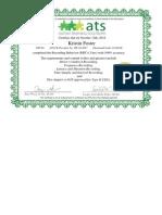 edse326 certifrecording