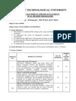 4130501 Management Economics[1]