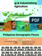 modernizing   industrializing philippine agriculture  claarrdec