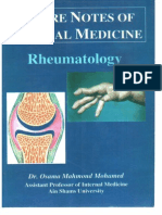 rheumatology notes from dr osama lectures