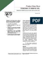 IOCAENINDESTeresso Turbine Oils[1]