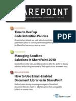 Managing Sandbox Solutions in SharePoint 2010