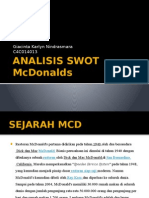 Analisis Swot Mcd