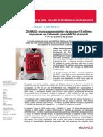 1 Press Release Relatório ODM 6 UNAIDS